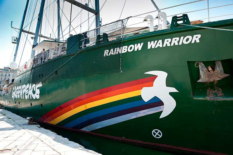 Greenpeace Rainbow Warrior III u Rijeci © Roberta F.
