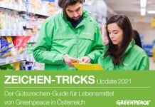 Gütezeichen Guide für Lebensmittel von Greenpeace Österreich
